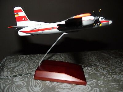 Antonov 24 Interflug 1/100 Scale model