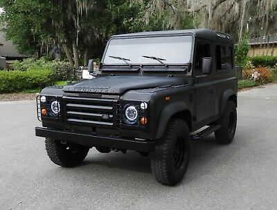 1990 Land Rover Defender 90 1990 Land Rover Defender 90 in Stealth Black in amazing condition!
