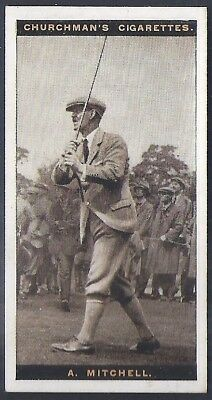 Churchman-Famous Golfers Golf-#31- Abe Mitchell