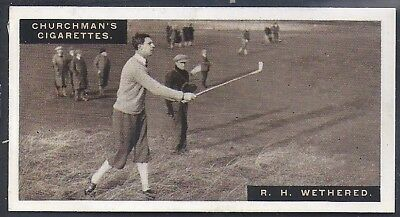 Churchman-Famous Golfers Golf-#49- Roger Wethered