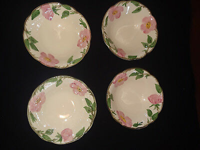 Desert Rose Franciscan Vintage 6 Inch Bowls Early 1970's USA