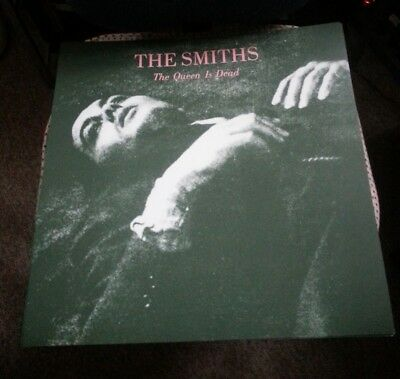 THE SMITHS THE QUEEN IS DEAD POSTER 3 PC LOT  2018 ORIGINAL PRINT PROMO 18x18
