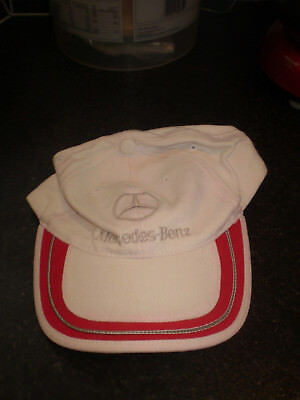 Mercedes-Benz Motorsport White Baseball Cap