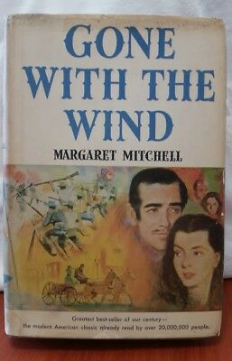 Gone With The Wind by Margaret Mitchell Book Club 1st Edition 1936 Hardcover