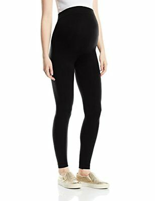 Black Small New Look Maternity Seamfree Legging, Leggings Prémaman Donna, (mvj)