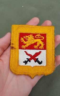 WWII US Army 15th cavalry regiment patch