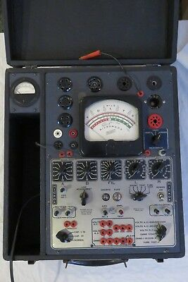Hickok 550X Tube Tester Navy Model Oz-1 Military Rare