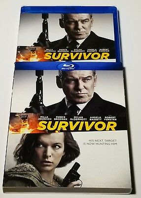 Survivor (Blu-ray Disc, 2015) Brand New/Sealed with Slip Cover