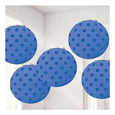 Blue Amscan International 249000 – 105 12 cm luminoso blu royal Hot (4r8)