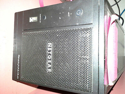 NETGEAR ReadyNAS Duo V1 bare Good condition RND2000 V2