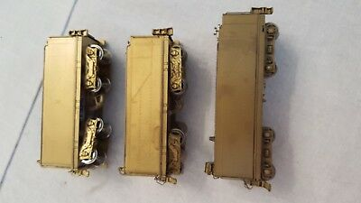 THREE BRASS PRR Tenders