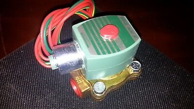 """New!! Asco Red-Hat 8210G002 2-Way Solenoid Valve 1/2"""" *Free Shipping*"""