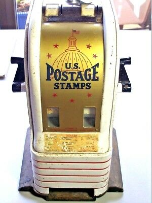 US POSTAGE STAMP VENDING MACHINE with key