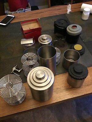 Nikor Stainless Film Developing Tanks all different sizes