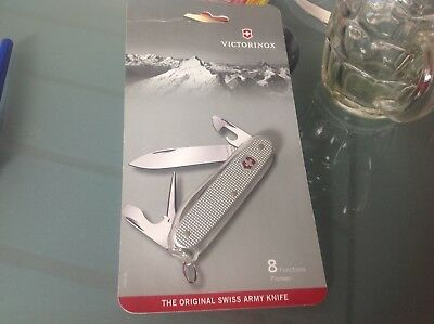 original    swiss army    pioneer soldier victorinox  knife  unused mint