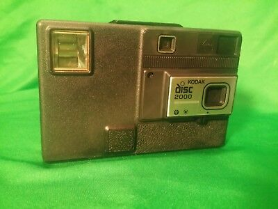 Vintage 80's Kodak Disc 2000 Camera with Kodacolor VR film