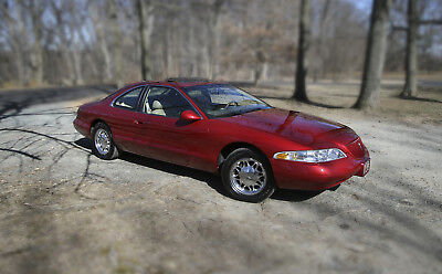 1998 Lincoln Mark Series LSC Sedan 2-Door Beautiful Red Lincoln Mark VIII Luxury Sport Coupe (LSC) — Showroom Condition.
