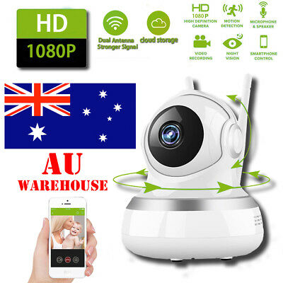 1080P Security IP Network Camera System Wireless WiFi CCTV Webcam Baby Monitor