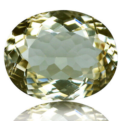 4.24 Ct Dazzling Rare Unheated Best Lustrous Yellow Scopalite !
