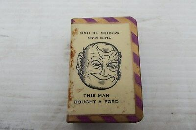 1940's - 50's Oakleigh Motors, F.s Tindall,matchbox Holder-''rare''