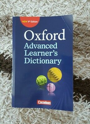 Oxford Advanced Learner's Dictionary Englisch Wörterbuch 9th Edition