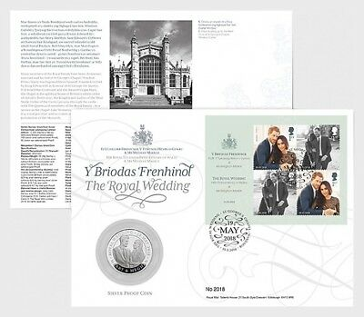 2018- Royal Wedding HRH Prince Henry of Wales & Ms Meghan Markle- Coin Cover
