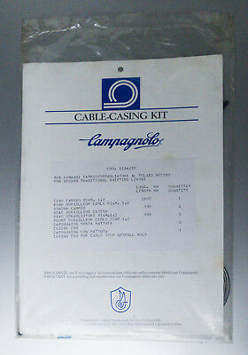 Campagnolo Cable-Casing Kit Mod.1134100 Nos Record Shifting Levers Eroica New