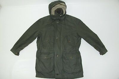 Barbour Men's VENTILE Urban Casual Hooded Cotton Trench Jacket sz C40/102CM