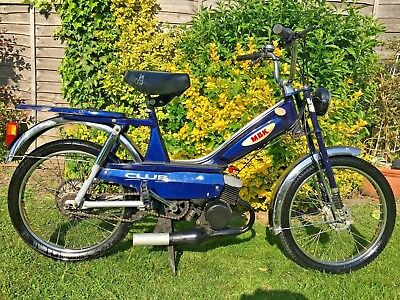 MBK MOTOBECANE MOBYLETTE 50cc CLASSIC MOPED BARN FIND SPARES REPAIRS PROJECT