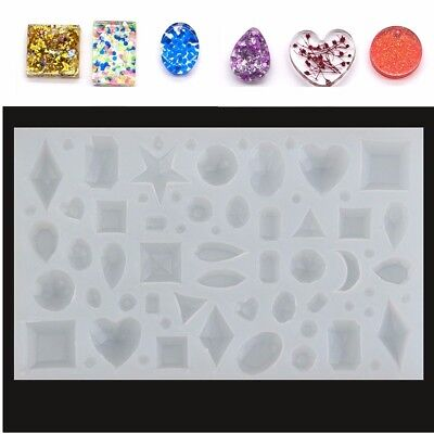 Silicone Pendant Mold Making Jewelry For Resin Necklace Mould Craft Tool