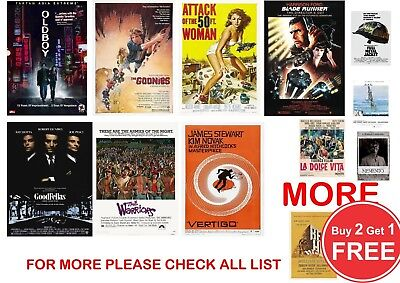 Classic Film, Movie Poster Prints in sizes A0-A1-A2-A3-A4-A5-A6-MAXI - CLS 2