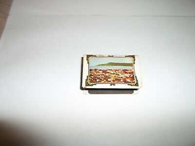 Collectable Vintage Australian Matchbox Holder- Featuring ' Burnie, Tasmania '