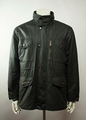 Barbour Sapper Waxed Jacket Black Size M