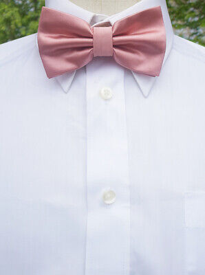 Blush / Dusky Pink Bow Tie Men's Mens bowtie dusty rose