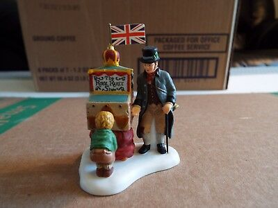 Dept 56   Dickens Village Collection The Half Penny Showman