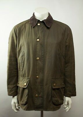 Barbour Ashby Wax Jacket Olive Size L