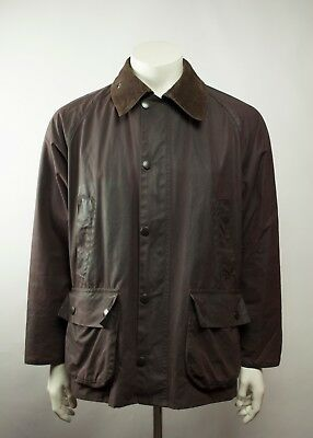 Barbour A321 Bedale Waxed Jacket Brown Size C40/102CM