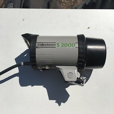 Elinchrom s2000 flash head