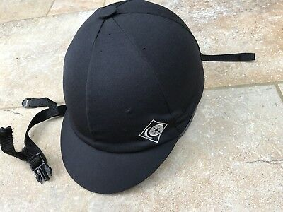 Charles Owen Competitor riding hat black size 0 /53