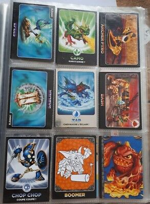 Lot cartes à collectionner Skylanders Giants