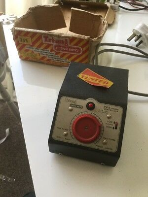 Triang 12v Transformer P4.5 Power Controller with AUX D.C. Output Tested Working