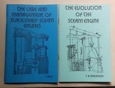 Stationary steam engine books Management & evolution. TEE Publishing. Live steam