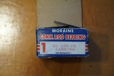 Buick Moraine connecting rod bearing part # 1393784
