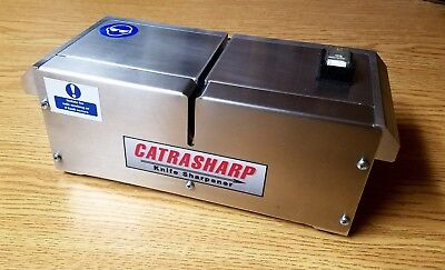 Catra Knife Sharpener - Catrasharp - Knife Sharpening Service - Industrial Use