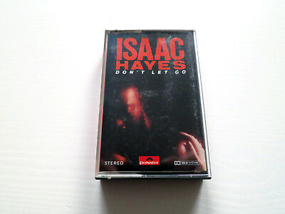 """MC Kassette """"Isaac Hayes - Don't let go"""" Tape Audio Cassette Polydor 1979"""
