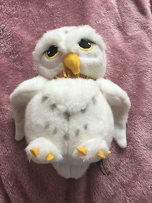 Hedwig Owl Plush Soft Toy Harry Potter Collectible Rare item