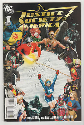 Justice Society of America LOT (11) FN/VF DC comics 2007-2008 Alex Ross Covers