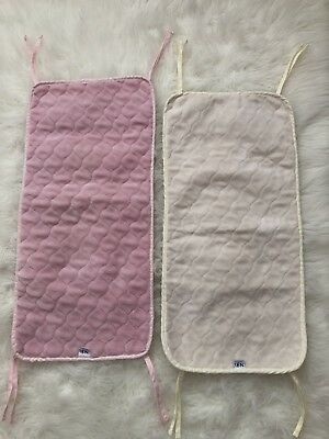 2 Nojo Coral Fleece Sheet Savers