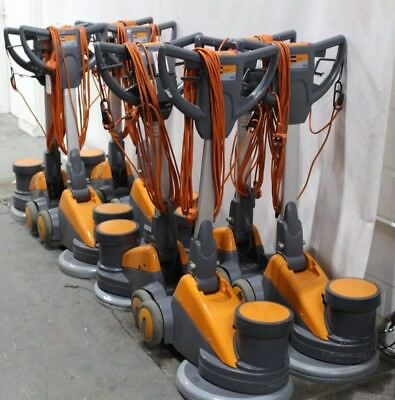 Job Lot of 8x Taski 438 Commercial Business Cleaning Scrubbers / Polishers