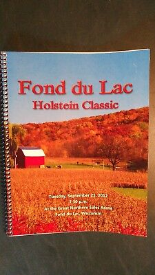Fond Du Lac Classic Holstein Dairy Cattle Sale Catalog 2012 Wisconsin